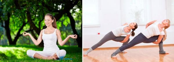 Парная йога занятия